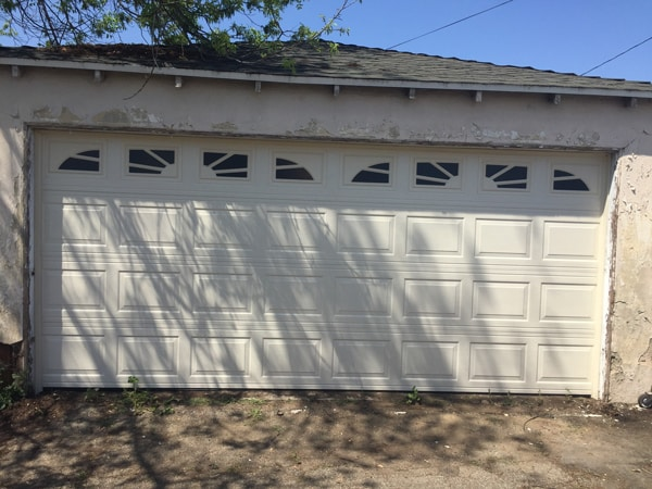 After Installation Garage Door