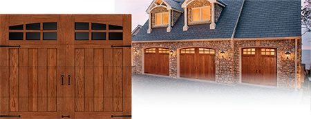 Canyon Ridge Collection Garage Door