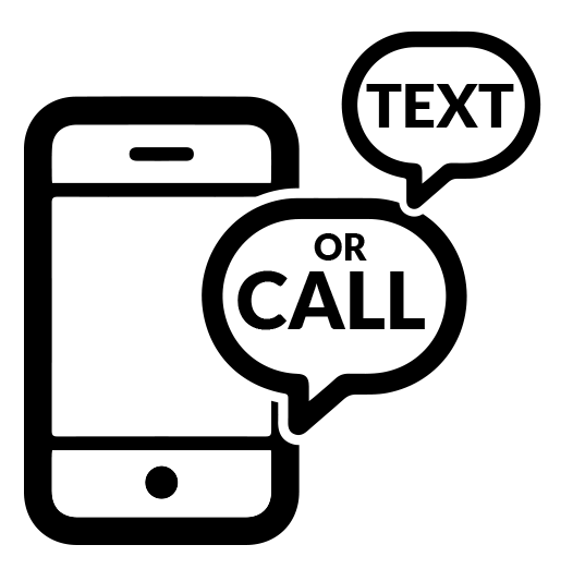 Call or Text Icon