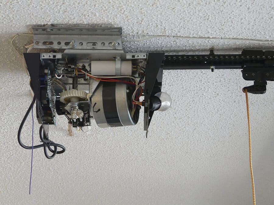 garage door motor gear drives