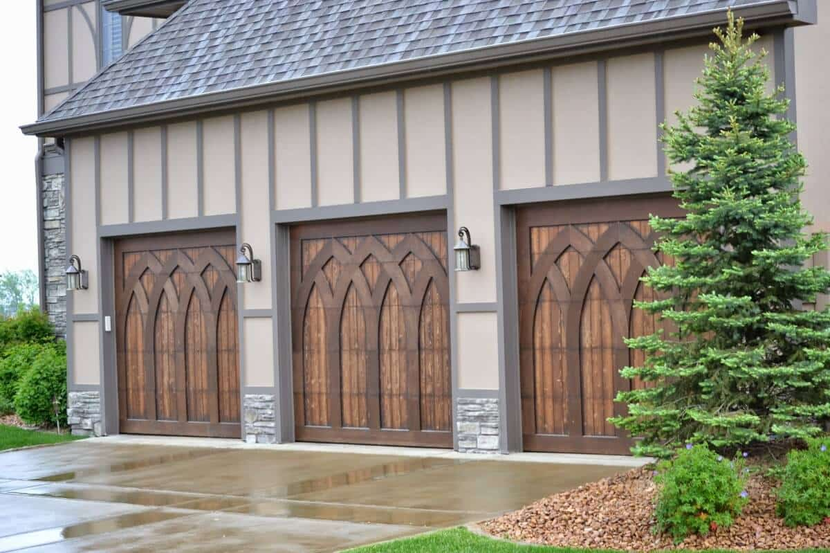 Wayne Dalton wooden garage doors