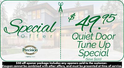 $49.95 Off Quiet Door Tune Up Coupon
