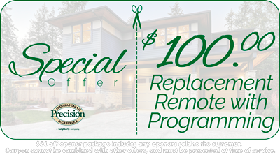 $100 Off Replacement Remote with Programming Coupon